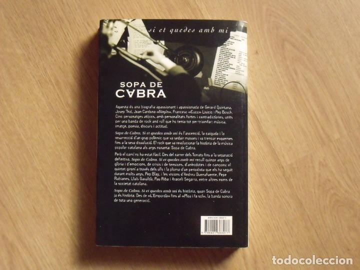 Autógrafos de Música : Autógrafos Gerard Quintana, Sopa de Cabra y autor del libro Pep Blay. Rosa dels Vents. 2002. - Foto 4 - 177113774
