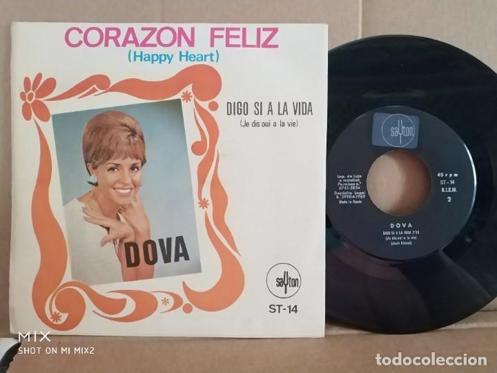 Autógrafos de Música : DOVA/CORAZÓN FELIZ /FIRMADO Y DEDICADO - Foto 3 - 177380387