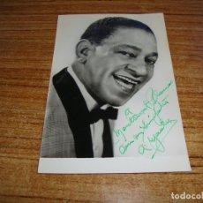 Autógrafos de Música : (ALB-TC-200) DEDICATORIA Y AUTOGRAFO ANTONIO MACHIN VER FOTO POSTERIOR 1963. Lote 177633750