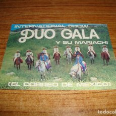 Autógrafos de Música : (ALB-TC-200) DEDICATORIA Y AUTOGRAFO DUO GALA Y SU MARIACHI VER FOTO POSTERIOR. Lote 177694023