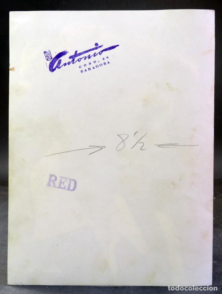 Autógrafos de Música : Fotografía con autógrafo original Pepita Fernández cantante dedicada a la revista Red años 50 - Foto 3 - 179161707