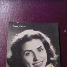 Autógrafos de Música : ANTIGUA FOTOGRAFIA DE LA ACTRIZ ITALIANA MARIA CAVANNA 15X10,5 CM. AÑOS 60. Lote 180391005