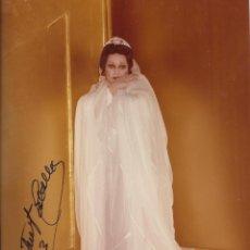 Autógrafos de Música : MONTSERRAT CABALLÉ. FOTOGRAFÍA CON AUTÓGRAFO, FIRMA ORIGINAL. 1993. BUEN ESTADO. 17X12,5 CM.. Lote 180875116