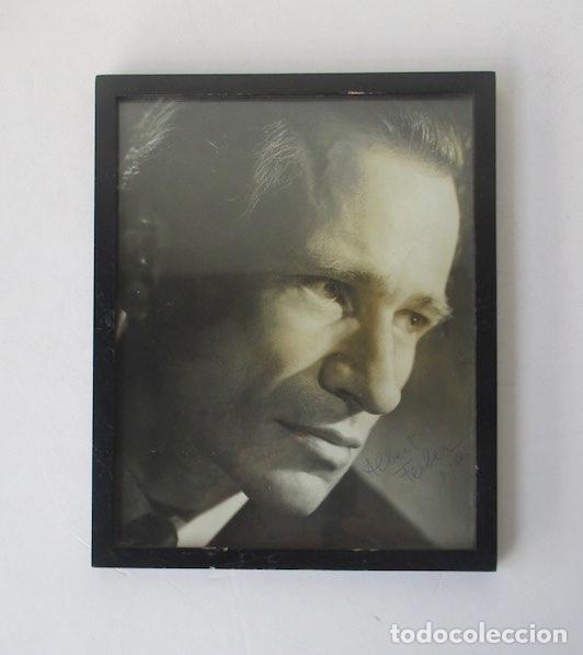 RETRATO CON AUTOGRAFO DEL PIANISTA SUIZO ALBERT FERBER (Música - Autógrafos de Cantantes )
