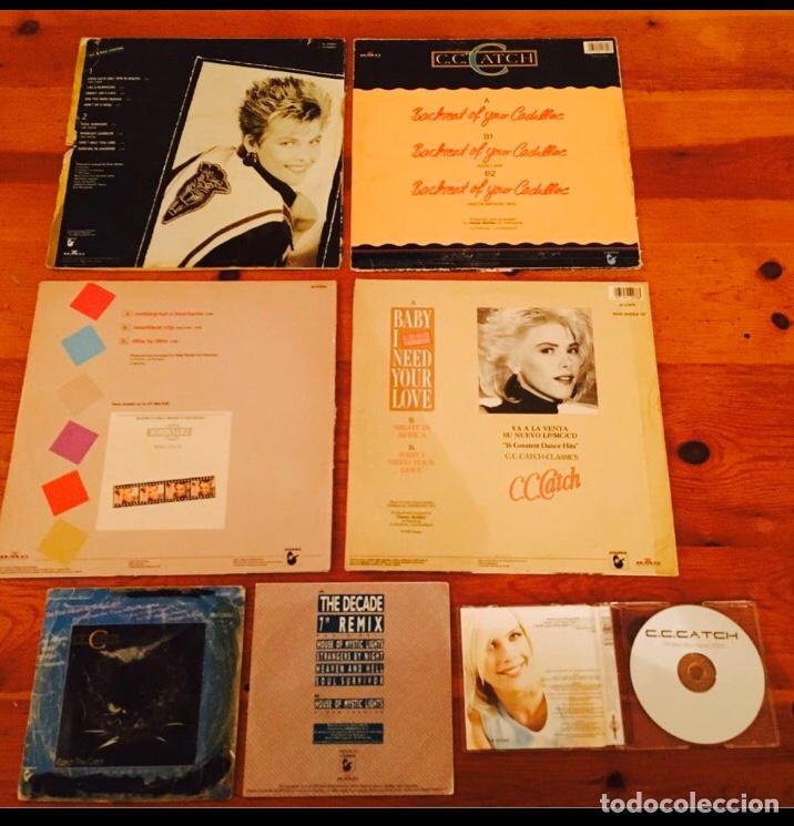 Autógrafos de Música : C.C.CATCH / LOTE CD FIRMADO Y VINILOS AUTOGRAFO C C CATCH / CC CATCH / AUTENTICO - Foto 4 - 182695516