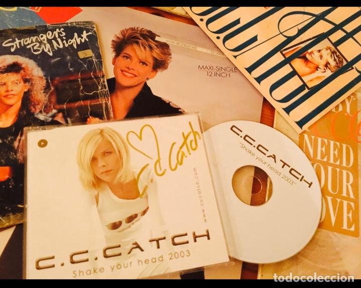 C.C.CATCH / LOTE CD FIRMADO Y VINILOS AUTOGRAFO C C CATCH / CC CATCH / AUTENTICO (Música - Autógrafos de Cantantes )