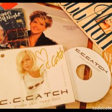 Autógrafos de Música : C.C.CATCH / LOTE CD FIRMADO Y VINILOS AUTOGRAFO C C CATCH / CC CATCH / AUTENTICO. Lote 182695516