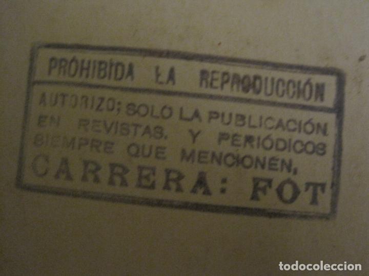 Autógrafos de Música : JUANITA DE CARTAGO-AUTOGRAFO-FOTOGRAFIA ANTIGUA FIRMADA-CARRERA FOT-VER FOTOS-(V-18.330) - Foto 6 - 184553358