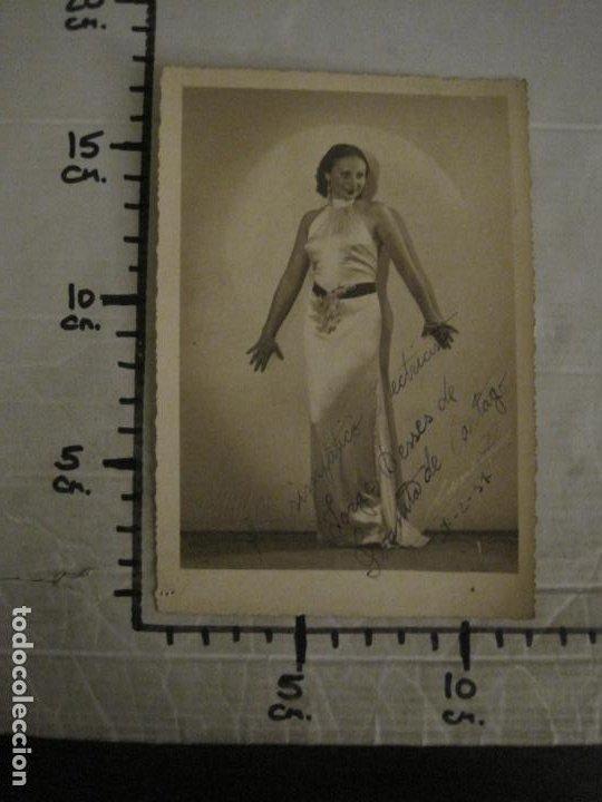 Autógrafos de Música : JUANITA DE CARTAGO-AUTOGRAFO-FOTOGRAFIA ANTIGUA FIRMADA-CARRERA FOT-VER FOTOS-(V-18.330) - Foto 7 - 184553358