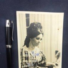 Autógrafos de Música : FOTOGRAFÍA FIRMADA MIRELLA FRENI. 1969. CANTANTE OPERA.. Lote 193261757