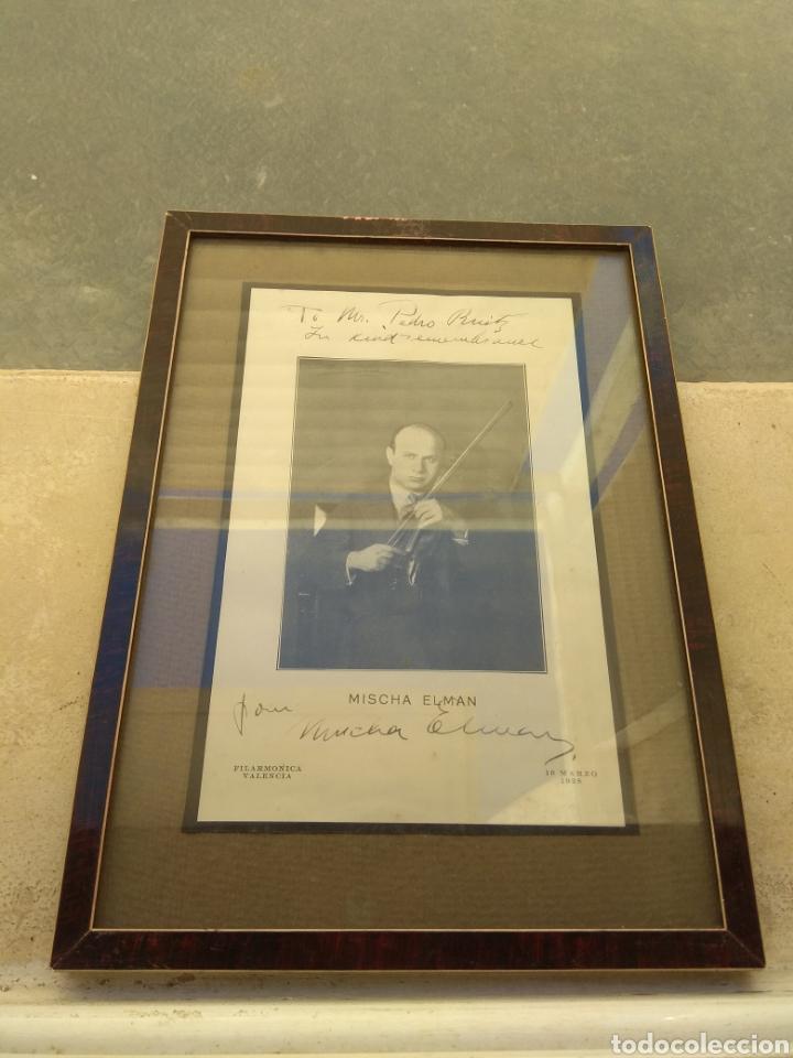Autógrafos de Música : Foto Postal Firmada y Dedicada por el Violinista Mischa Elman 1928 - Violín - - Foto 6 - 57876719