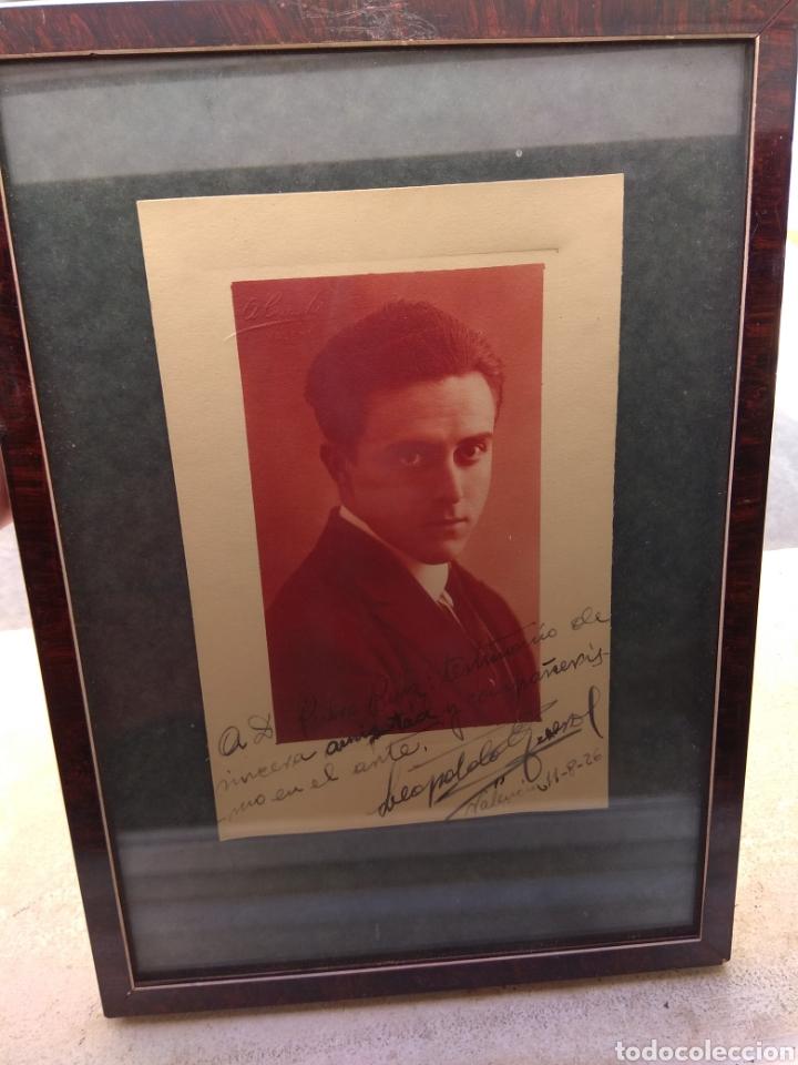 Autógrafos de Música : Foto Postal Firmada y Dedicada por el Pianista Leopoldo Querol - Piano - año 1926 - Foto 2 - 57876803