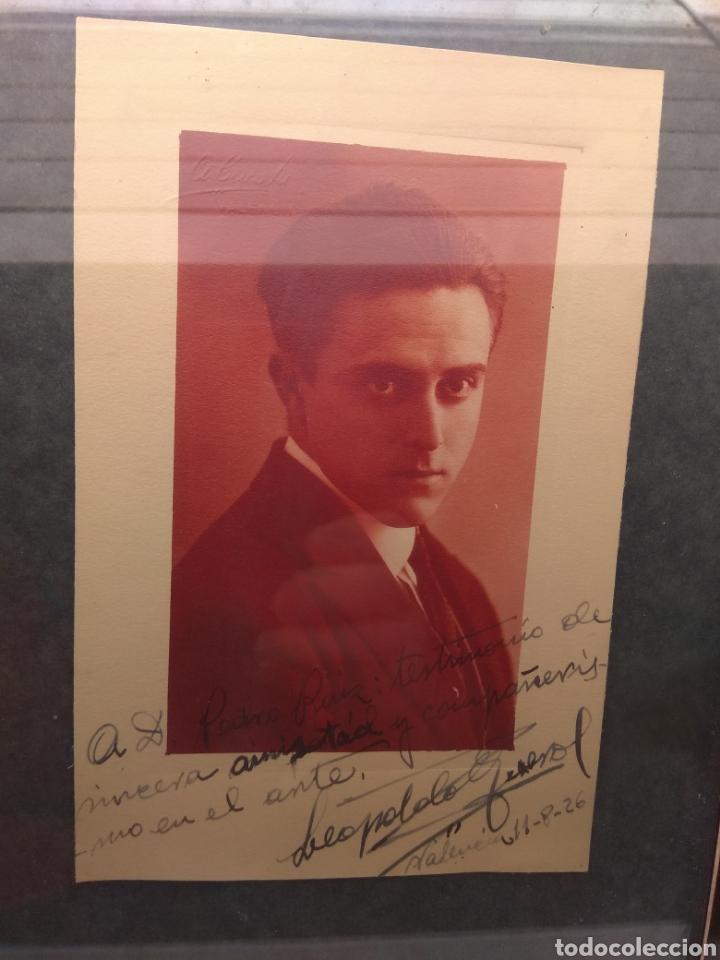 Autógrafos de Música : Foto Postal Firmada y Dedicada por el Pianista Leopoldo Querol - Piano - año 1926 - Foto 3 - 57876803
