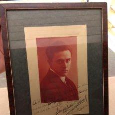 Autógrafos de Música : FOTO POSTAL FIRMADA Y DEDICADA POR EL PIANISTA LEOPOLDO QUEROL - PIANO - AÑO 1926. Lote 57876803