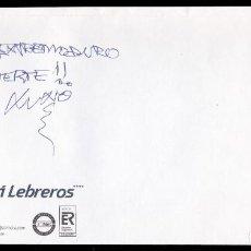 Autógrafos de Música : *** AUTÓGRAFO DE EXTREMODURO 27/10/2002 EN SOBRE DEL MELIÁ LEBREROS (SEVILLA) ***. Lote 195112131