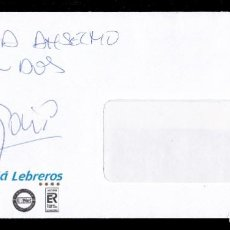 Autógrafos de Música : *** AUTÓGRAFO DEL VOCALISTA DE REVOLVER 26/09/1997. EN SOBRE DEL MELIÁ LEBREROS (SEVILLA) ***. Lote 195113617