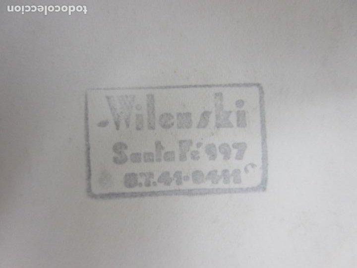 Autógrafos de Música : Fotografía con Dedicatoria y Autógrafo - Antonio Vargas, Cataor - Foto Wilenski - Año 1942 - Foto 4 - 195221818
