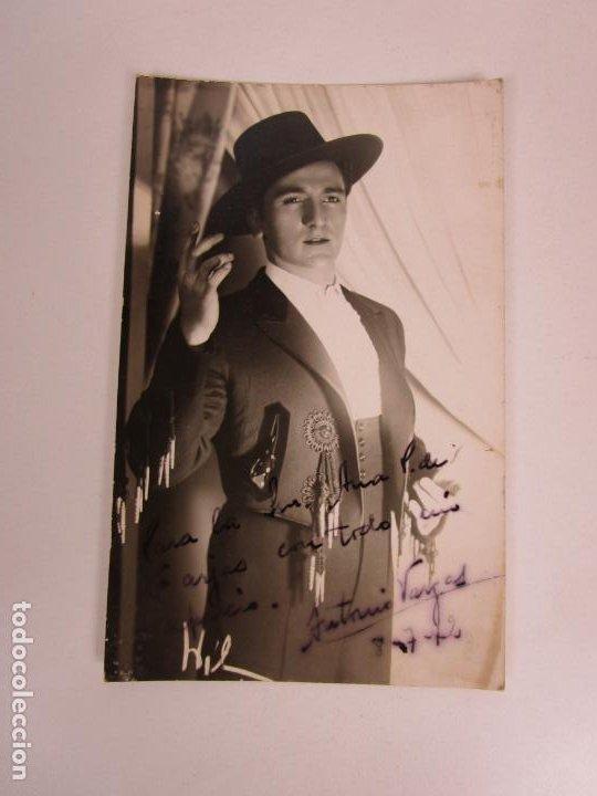 FOTOGRAFÍA CON DEDICATORIA Y AUTÓGRAFO - ANTONIO VARGAS, CATAOR - FOTO WILENSKI - AÑO 1942 (Música - Autógrafos de Cantantes )