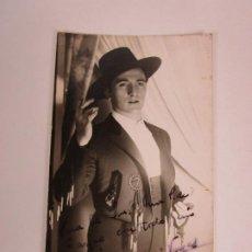 Autógrafos de Música : FOTOGRAFÍA CON DEDICATORIA Y AUTÓGRAFO - ANTONIO VARGAS, CATAOR - FOTO WILENSKI - AÑO 1942. Lote 195221818