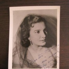 Autógrafos de Música : ELENITA MAYO-AUTOGRAFO-FOTOGRAFIA FIRMADA-VER FOTOS-(V-19.343). Lote 196640352