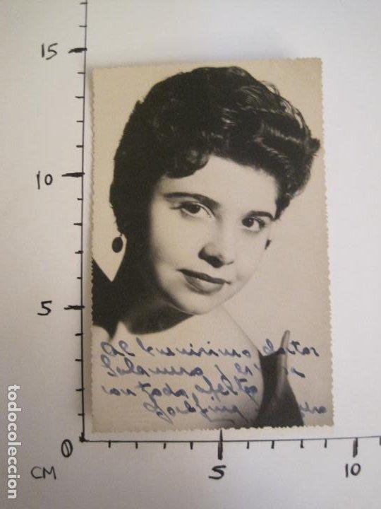 Autógrafos de Música : JOSEFINA ??-AUTOGRAFO-FOTOGRAFIA FIRMADA-VER FOTOS-(V-19.345) - Foto 4 - 196640565