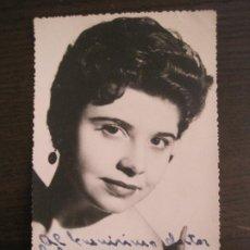 Autógrafos de Música : JOSEFINA ??-AUTOGRAFO-FOTOGRAFIA FIRMADA-VER FOTOS-(V-19.345). Lote 196640565