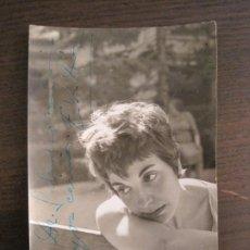 Autógrafos de Música : ELSA DIAZ-AUTOGRAFO-FOTOGRAFIA FIRMADA-VER FOTOS-(V-19.348). Lote 196640936