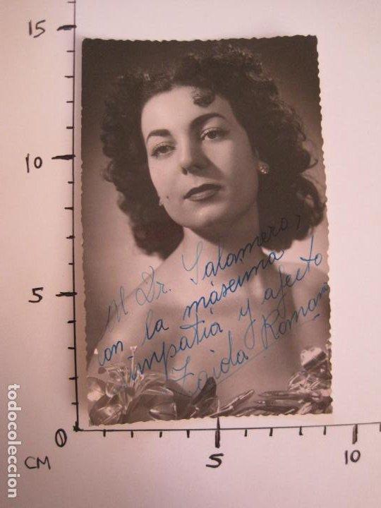 Autógrafos de Música : ZAIDA ROMANAS-AUTOGRAFO-FOTOGRAFIA FIRMADA-VER FOTOS-(V-19.350) - Foto 4 - 196641086