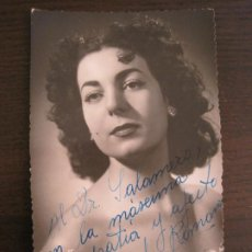 Autógrafos de Música : ZAIDA ROMANAS-AUTOGRAFO-FOTOGRAFIA FIRMADA-VER FOTOS-(V-19.350). Lote 196641086