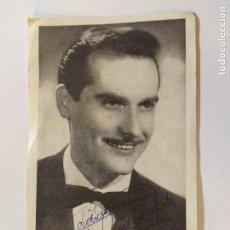 Autógrafos de Música : RAMON CALDUCH-AUTOGRAFO-FOTOGRAFIA FIRMADA-VER FOTOS-(V-19.406). Lote 196807123