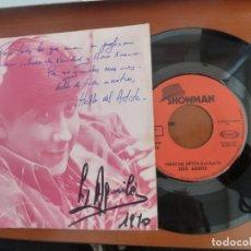 Autographes de Musique : LUIS AGUILE HABLO DEL ARTISTA DISCO DE VINILO CON AUTOGRAFO ORIGINAL. Lote 200079285