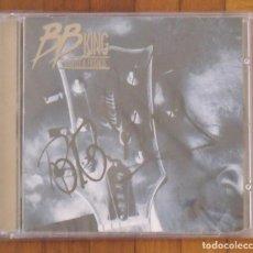 Autógrafos de Música : B. B. KING. AUTÓGRAFO, FIRMA ORIGINAL EN CD BB KING LUCILLE&FRIENDS 1995. 12X14 CM. BUEN ESTADO. Lote 202416870