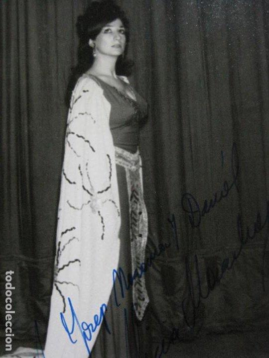 Autógrafos de Música : ALICIA MARASLIAU-AUTOGRAFO-GRAN TEATRO DEL LICEO-BARCELONA-FOTOGRAFIA FIRMADA-VER FOTOS-(V-19.983) - Foto 4 - 204089888