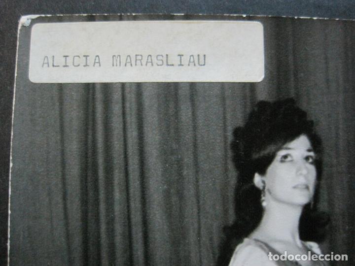 Autógrafos de Música : ALICIA MARASLIAU-AUTOGRAFO-GRAN TEATRO DEL LICEO-BARCELONA-FOTOGRAFIA FIRMADA-VER FOTOS-(V-19.983) - Foto 5 - 204089888