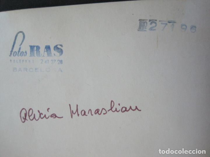 Autógrafos de Música : ALICIA MARASLIAU-AUTOGRAFO-GRAN TEATRO DEL LICEO-BARCELONA-FOTOGRAFIA FIRMADA-VER FOTOS-(V-19.983) - Foto 10 - 204089888