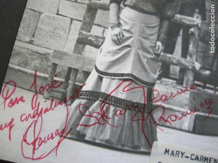 Autógrafos de Música : MARY CARMEN Y FRANCISCO SAURA-AUTOGRAFO-FOTOGRAFIA FIRMADA-VER FOTOS-(V-19.985) - Foto 4 - 204090513
