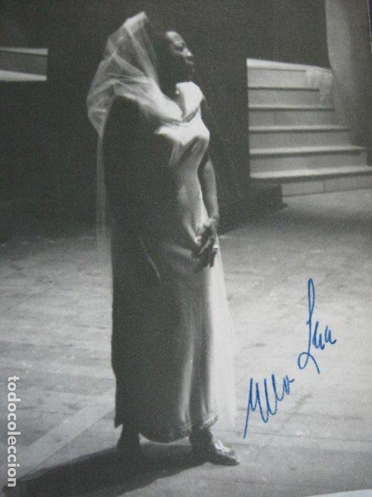 Autógrafos de Música : ELLA LEE-AUTOGRAFO-GRAN TEATRO DEL LICEO BARCELONA-FOTOGRAFIA FIRMADA-VER FOTOS-(V-19.986) - Foto 2 - 204091453