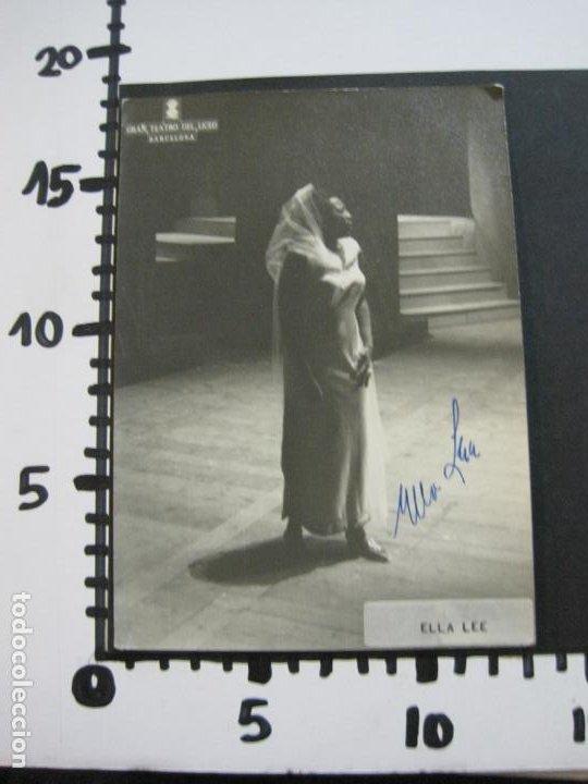 Autógrafos de Música : ELLA LEE-AUTOGRAFO-GRAN TEATRO DEL LICEO BARCELONA-FOTOGRAFIA FIRMADA-VER FOTOS-(V-19.986) - Foto 8 - 204091453