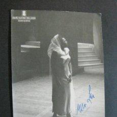 Autógrafos de Música : ELLA LEE-AUTOGRAFO-GRAN TEATRO DEL LICEO BARCELONA-FOTOGRAFIA FIRMADA-VER FOTOS-(V-19.986). Lote 204091453