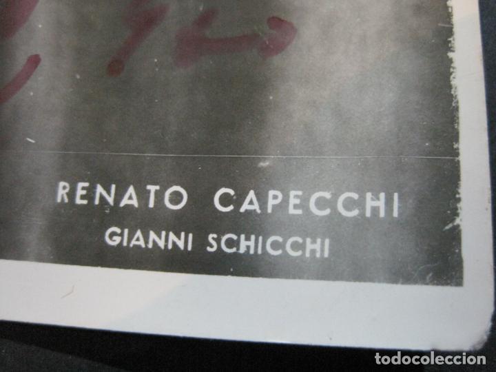 Autógrafos de Música : RENATO CAPECCHI-AUTOGRAFO-FOTOGRAFIA FIRMADA-VER FOTOS-(V-19.987) - Foto 6 - 204092141