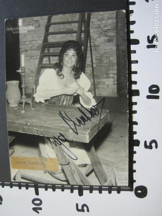 Autógrafos de Música : JOYCE BLACKHAM-AUTOGRAFO-GRAN TEATRO DEL LICEO-BARCELONA-FOTOGRAFIA FIRMADA-VER FOTOS-(V-19.989) - Foto 8 - 204092298