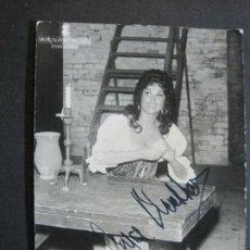 Autógrafos de Música : JOYCE BLACKHAM-AUTOGRAFO-GRAN TEATRO DEL LICEO-BARCELONA-FOTOGRAFIA FIRMADA-VER FOTOS-(V-19.989). Lote 204092298