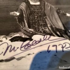 Autógrafos de Música : MONTSERRAT CABALLÉ - TEATRO ALLA SCALA IN NORMA - FOTOGRAFIA CON AUTOGRAFO FIRMA ORIGINAL 1977 - SCB. Lote 205863060