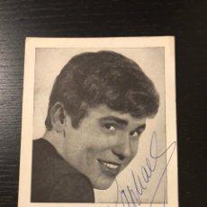 Autographes de Musique : POSTAL CON AUTÓGRAFO RAPHAEL. Lote 206499740
