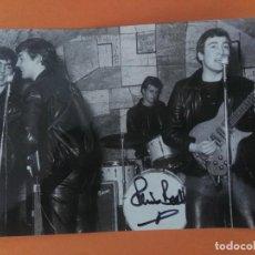Autógrafos de Música : AUTOGRAFO DE PETE BEST EX BATERÍA DE THE BEATLES TAMAÑO FOTOGRAFIA 18,50 X 12,50. Lote 210180311