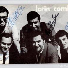 Autógrafos de Música : LATIN COMBO (DEDICATORIA CON AUTÓGRAFOS). Lote 211669966