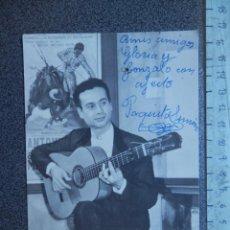 Autografi di Musica : FIRMA MANUSCRITA DE PAQUITO SIMÓN ORIGINAL. Lote 213479165