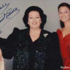 Autografi di Musica : MONTSERRAT CABALLÉ Y MONTSERRAT MARTÍ. FOTOGRAFÍA AUTÓGRAFO, FIRMA ORIGINAL. 1997. AUTOGRAPH. ÓPERA.. Lote 216645937