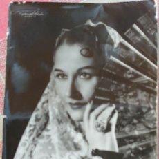 Autógrafos de Música: ESTRELLITA CASTRO FOTOGRAFÍA 13 X 18 CTMS AUTOGRAFIADA.... Lote 217942170