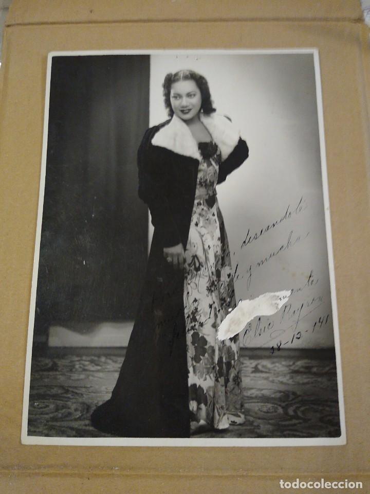 FOTOGRAFÍA ORIGINAL CON AUTÓGRAFO DE ELSIE BYRON. LA VENUS DE ÉBANO. (Música - Autógrafos de Cantantes )